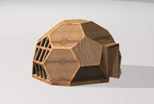 truncated dome plans. Black Bedroom Furniture Sets. Home Design Ideas