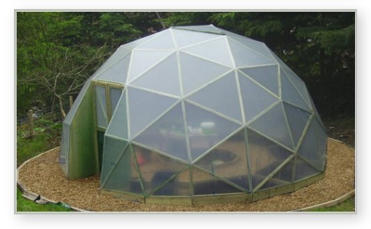 GD27 6 meter dome greenhouse
