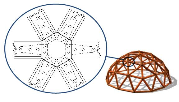 Building A Wooden Geodesic Dome Greenhouse Frame