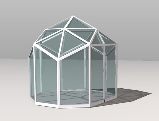 modular geodesic dome design - Dome Greenhouse Designs