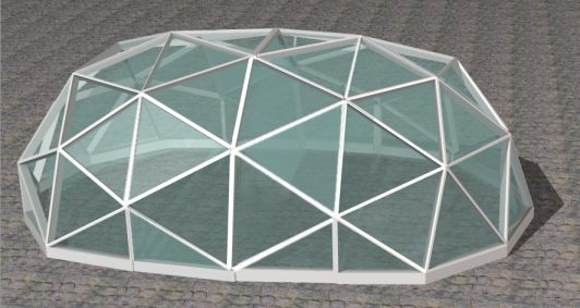 952893fd87e203 Elongated dome design
