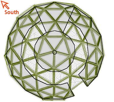 Geodesic greenhouse plans floor plans for Geodesic greenhouse plans free