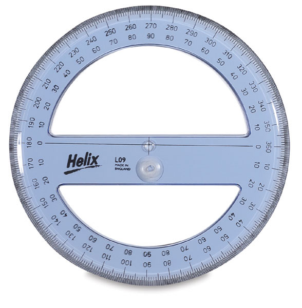 how to use a circular protractor